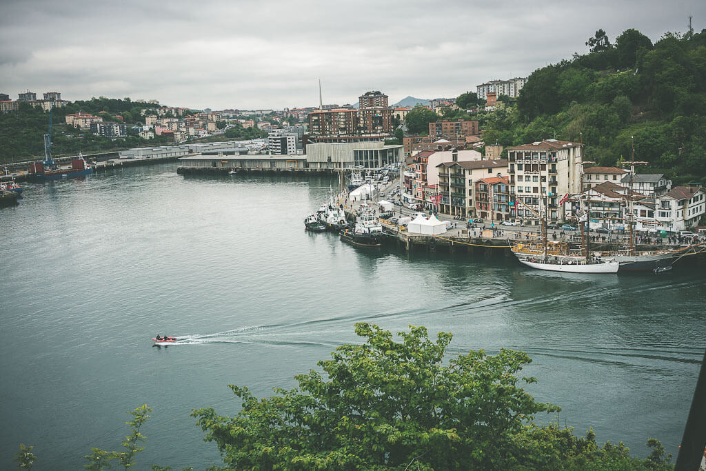 Pasaia is a day trip from San Sebastian and is a tiny Basque fishing village. This is a must visit on your Northern Spain itinerary in the Basque region of Spain
