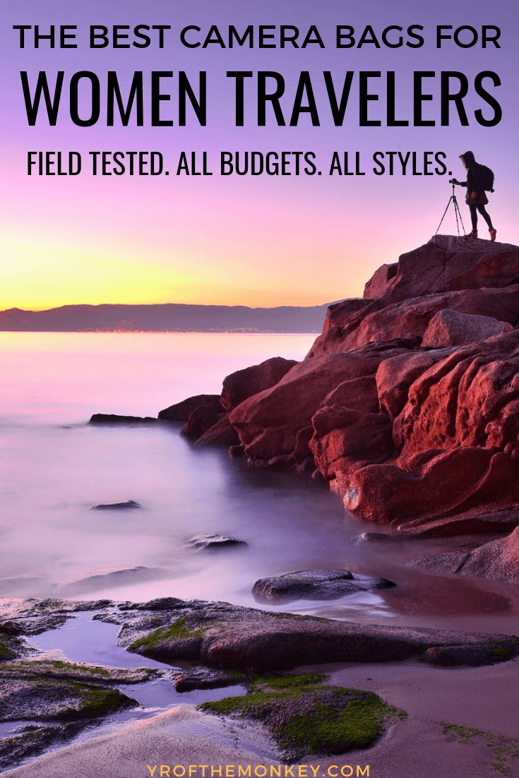 Looking for that perfect travel camera bag where style meets functionality, durability and portability? Look no further than this post which showcases the best camera bags and backpacks for female travelers, all field tested and with plenty of cruelty free options. Pin this to your travel accessories or photography board now! #travelphotography #femaletravelers #camerabags #travelcamerabags #camerabackpacks #messengerbags #femaletravelphotographers #bestcamerabagsforwomen