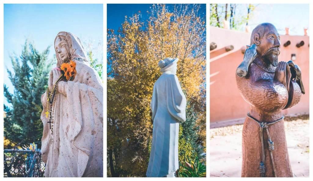 Santuario de Chimayo, Highroad from Santa Fe to Taos, Chimayo, New mexico