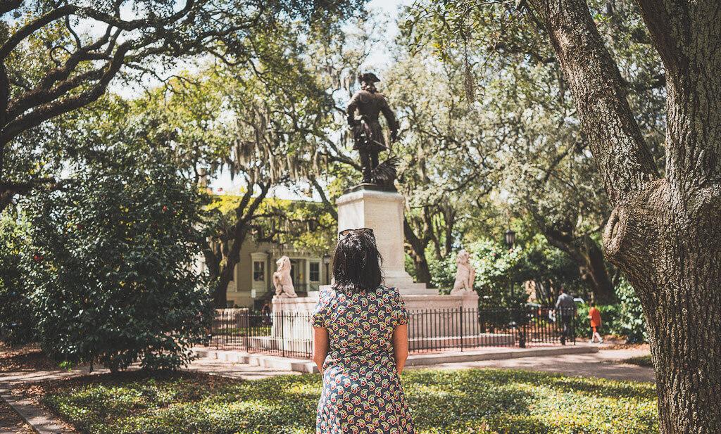 Savannah Day trip: visit Chippewa square