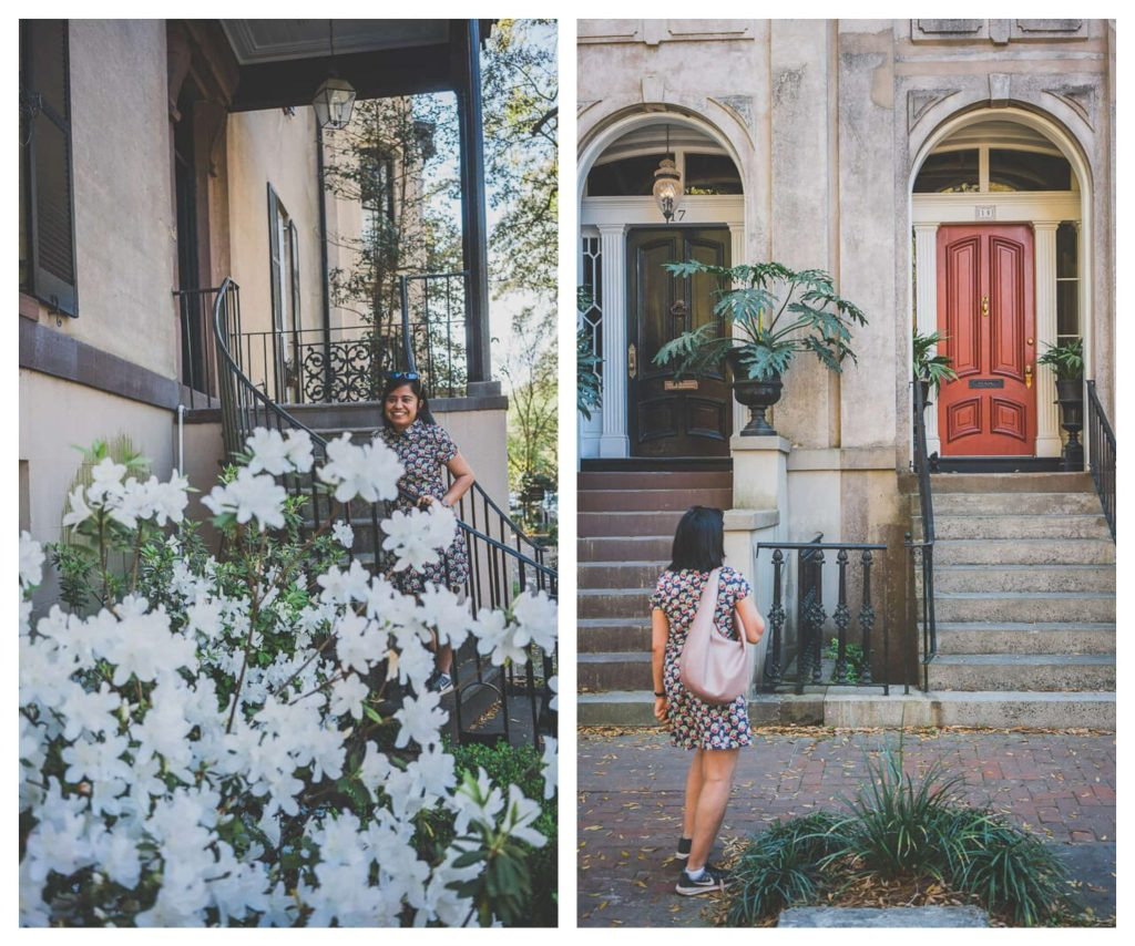 Savannah's historic district is filled with amazing architecture and is a prime attraction for your day trip to Savannah from Charleston