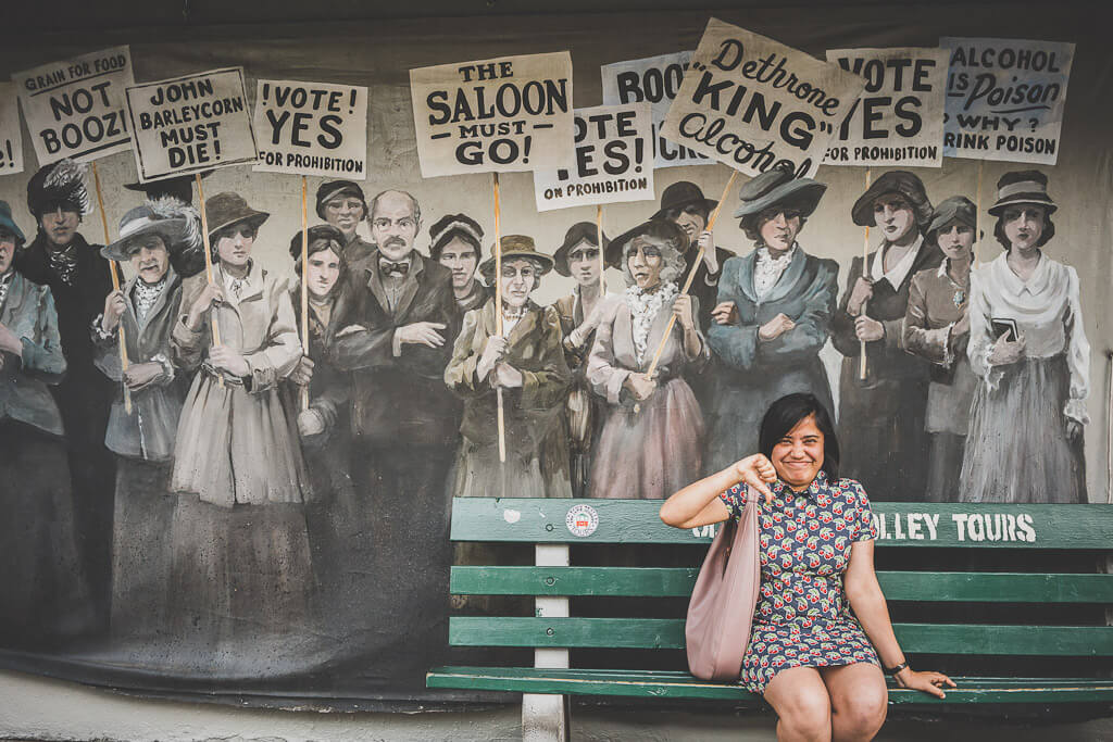 Prohibition Museum in Savannah, Where to go on a Savannah day trip, What to see in Savannah, things to do in Savannah