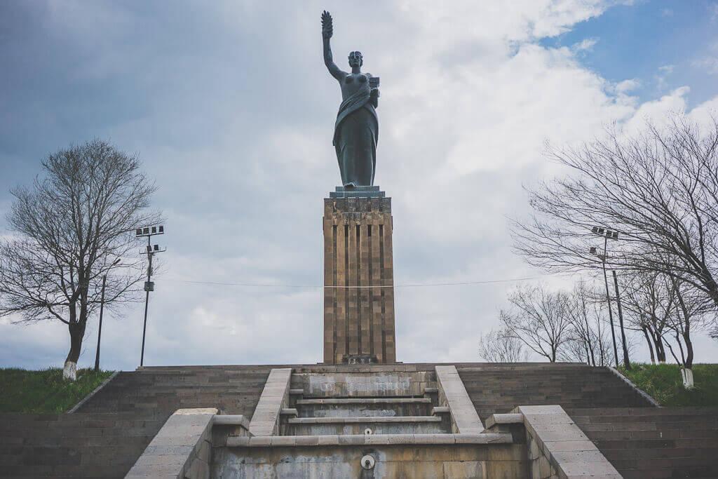 Mother Armenia statue in Gyumri