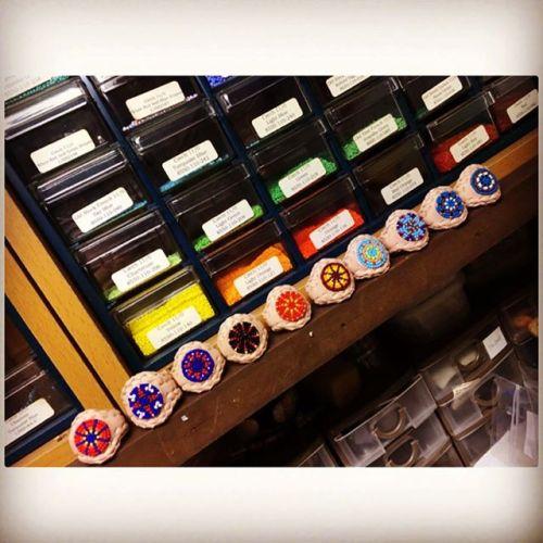 beadring!Junkyclassics様に無事納品しました#beadring #junkyclassics #beadwork #handmade #buffalotracks #無事に納品完了
