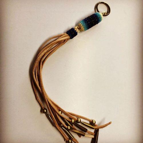 #keyホルダー #handmade #beadwork #Buffalotracks #leathercraft #junkyclassics #ご注文の品 #ありがとうございます