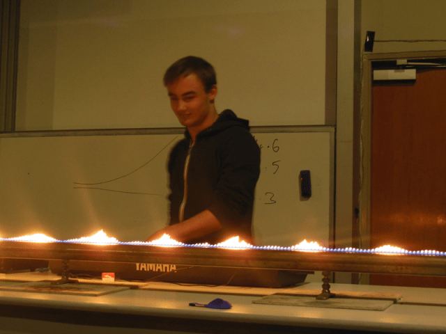 The spectacular Physics Show at the Youth ANZAAS program 2014