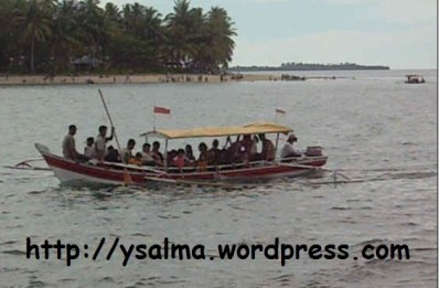Biduak dari Pulau Cingkuak