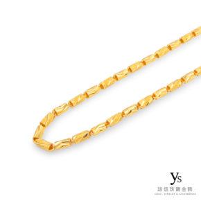 男生黃金項鍊   詠信珠寶金飾