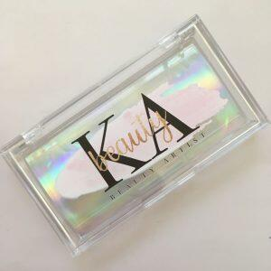 Custom acrylic eyelash packaging box
