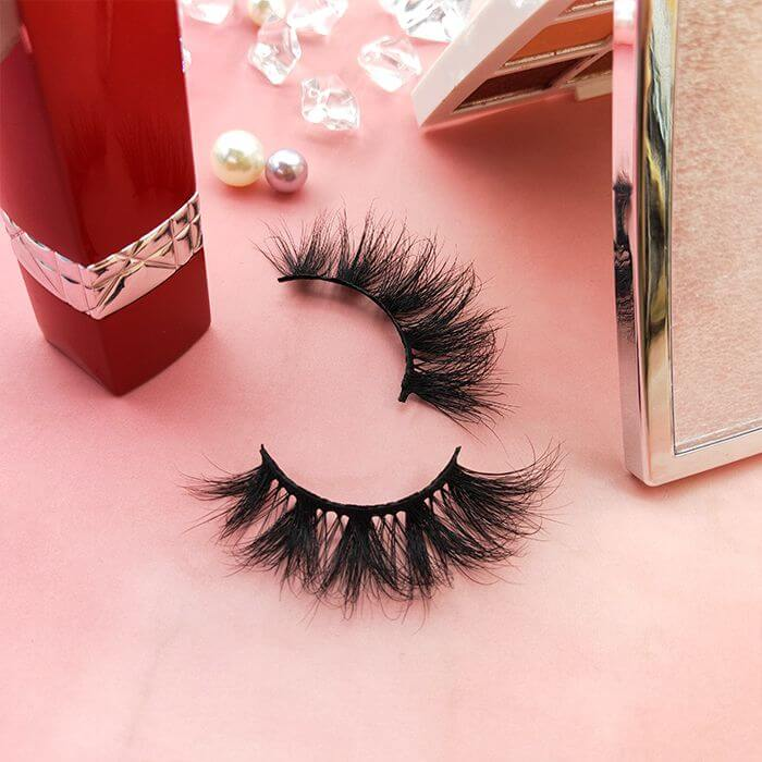 custom faux lashes design