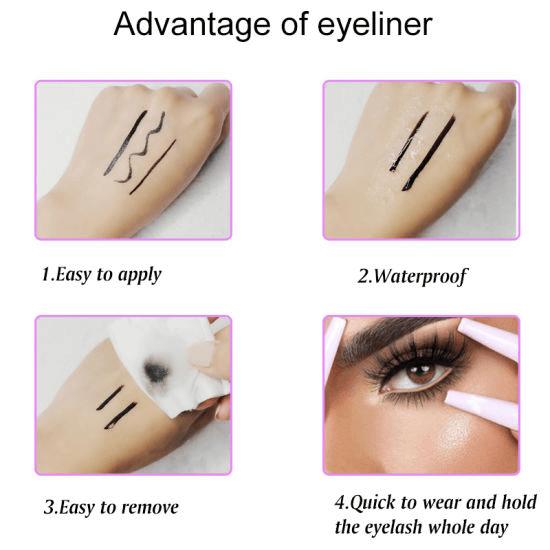 how to use best eyelash glue