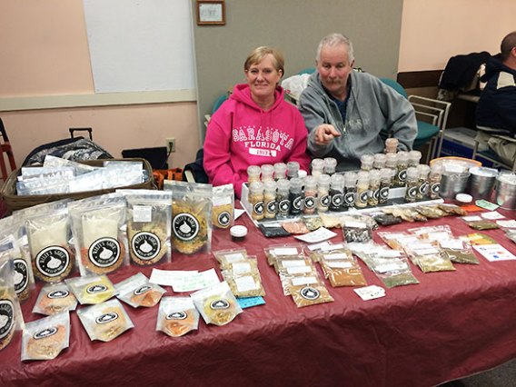 Weezys Garlic Spices And More at the winter farmers market