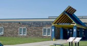 The Wakpala Public School on the Standing Rock Reservation in South Dakota is one of two schools to request school supply donations, to be delivered next week by Yellow Springs resident Bettina Stolsenberg. (Submitted photo by Bettina Solas Stolsenberg)