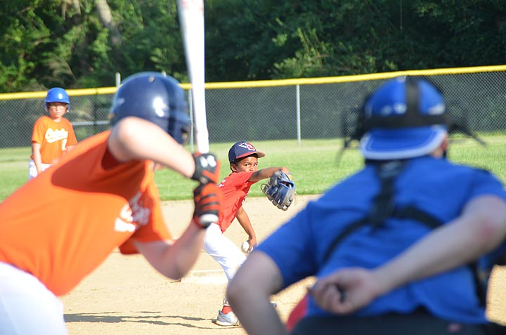Rec League Baseball — Brewers, Pirates tied in Minor League