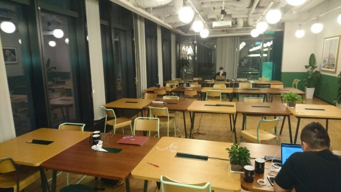 Co-working Space WeWork 環境