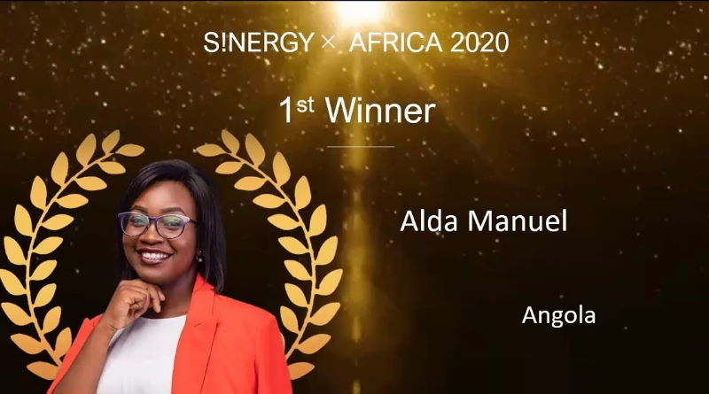 Alda Manuel – Winner S!NERGY AFRICA