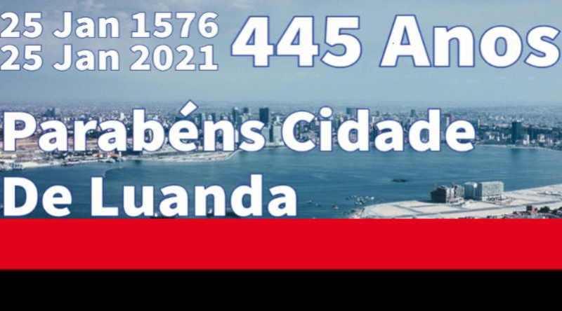 Parabéns Cidade de Luanda