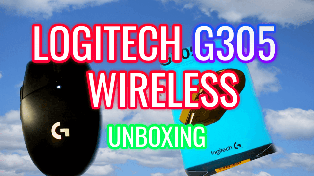 Logitech G305 Wireless Unboxing