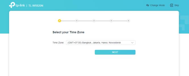 zona waktu wr820n