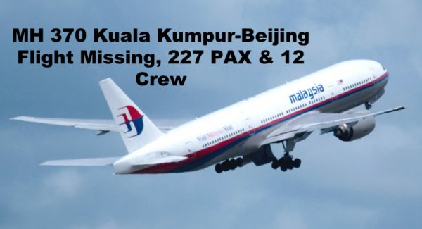 マレーシア航空機