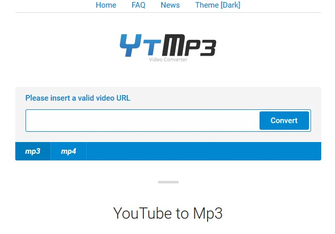 image of ytmp3.cc youtube to mp3 converter