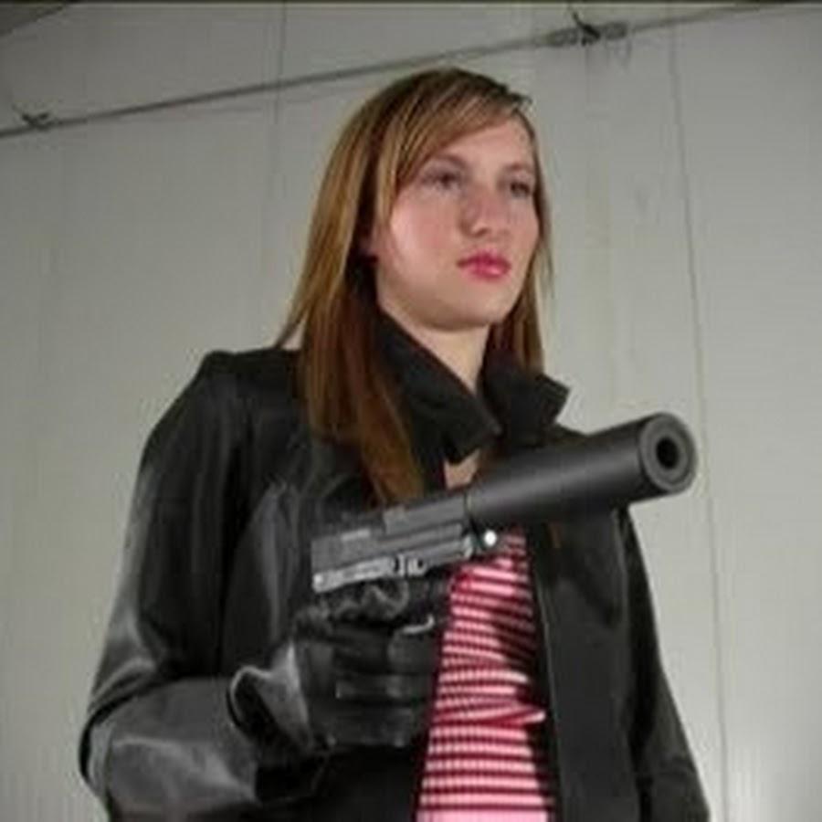 Gloved Hitwoman Silencer