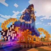 Minecraft Disney World