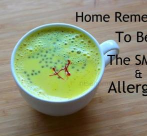 6 Home Remedies For Allergies Air Pollution Beat The Smog With Turmeric MilkGolden Milk