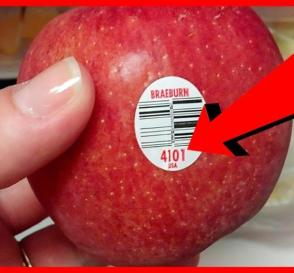 If You See These Stickers on a Fruit Dont Buy It Here is Why...