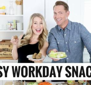 5 Easy Healthy Snack Ideas For Busy Workdays With Matt Johnson Healthy Grocery Girl
