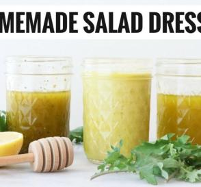 Easy Healthy Homemade Salad Dressings 3 WAYS Gluten Free Dairy Free Healthy Grocery Girl
