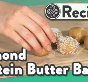Easy 4 Ingredient Almond Butter Balls Collagen Recipes