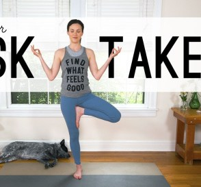 Yoga For Risk Takers Yoga With Adriene