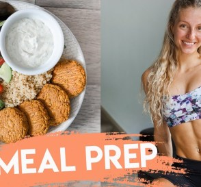 What I Eat in a Day HEALTHY MEAL PREP RECIPES