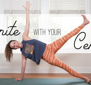 Reunite With Your Core Center Yoga With Adriene