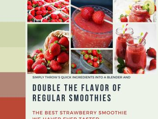 strawberry smoothie with grapes and watermelon recipe