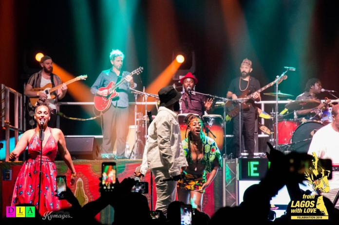 Image result for photos of Photos from the 2019 felabration performance