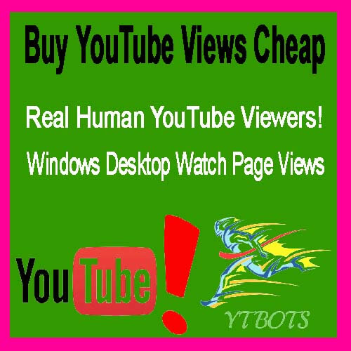 Buy 1000 YouTube Views For $1