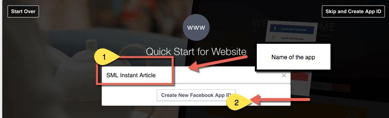 Creating-Facebook-App