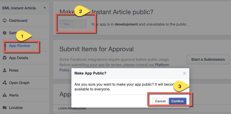 Make-Facebook-App-Live