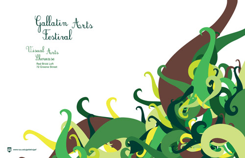 An annual showcase of the art created by NYU Gallatin students