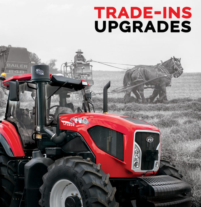 Trade in upgrade yto tractors