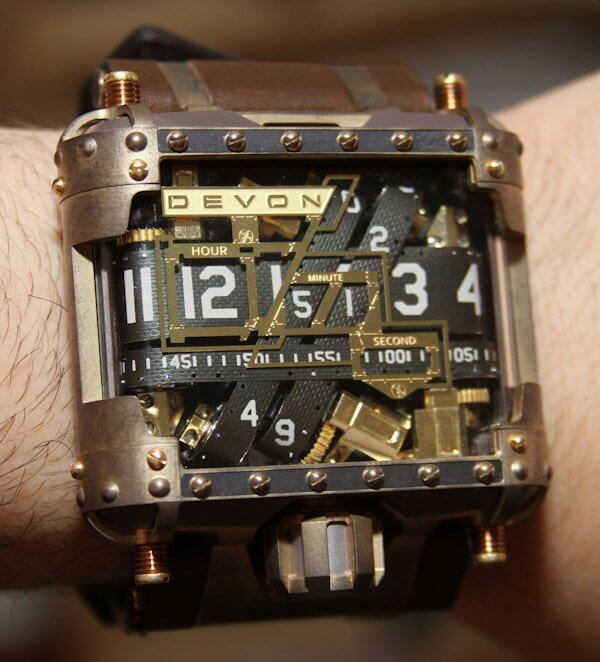 Devon Steampunk Tread 1 Watch画像1