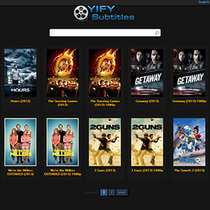 Image result for YIFY subtitle
