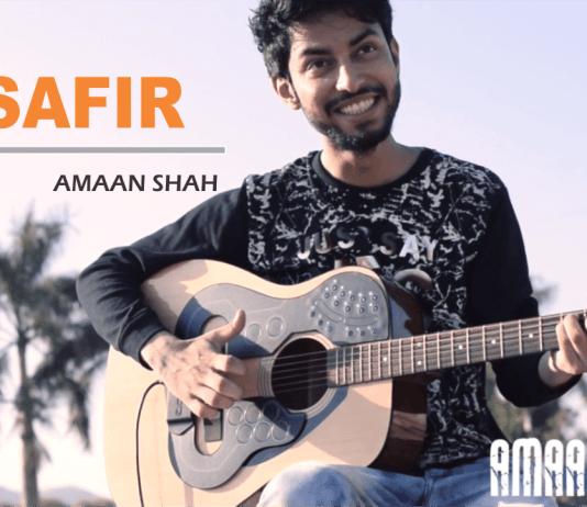 Musafir Song, Atif Aslam, Guitar Cover, Amaan Shah.