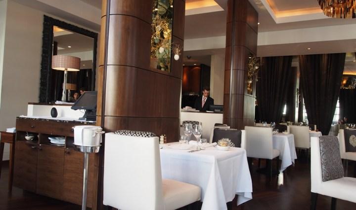 Restaurant Interior at The Ledbury