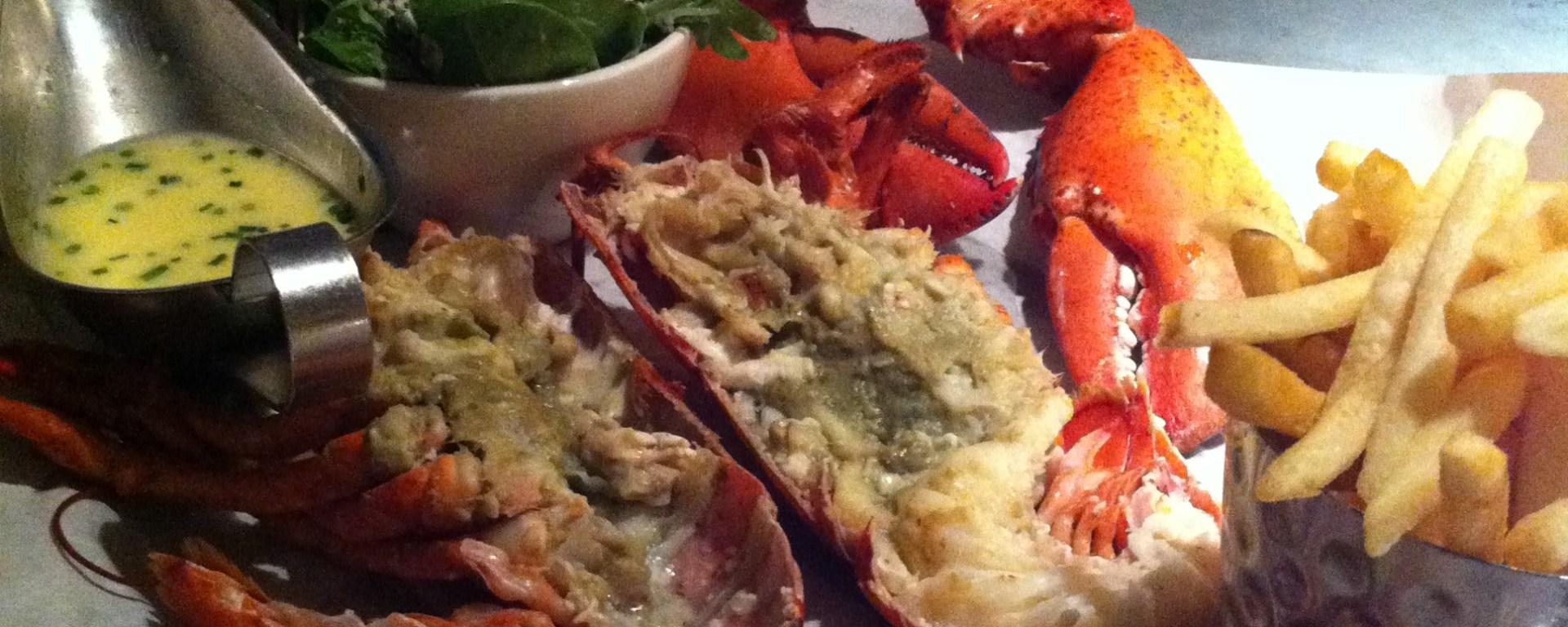 Lobster dish at Burger & Lobster Soho