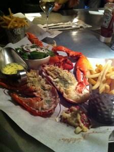 lobster at burger & lobster soho