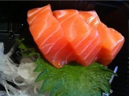 Salmon sashimi | Kami Japanese Restaurant| Yvanne Teo