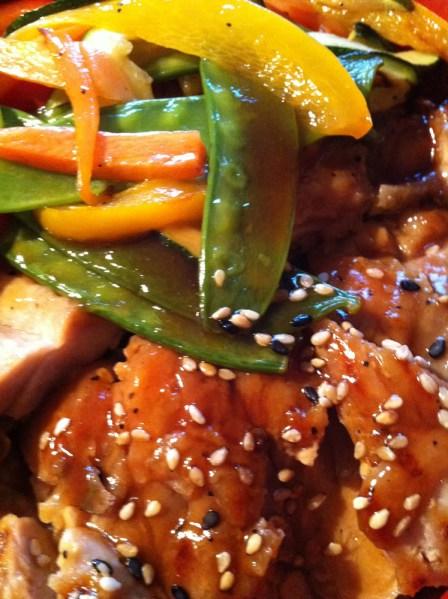 Chicken Teriyaki | Kami Japanese Restaurant| Yvanne Teo